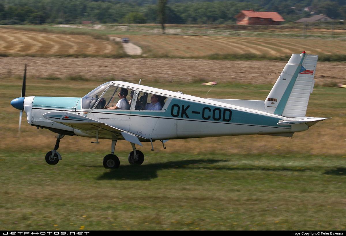 OK-COD - Zlin 43 - Private