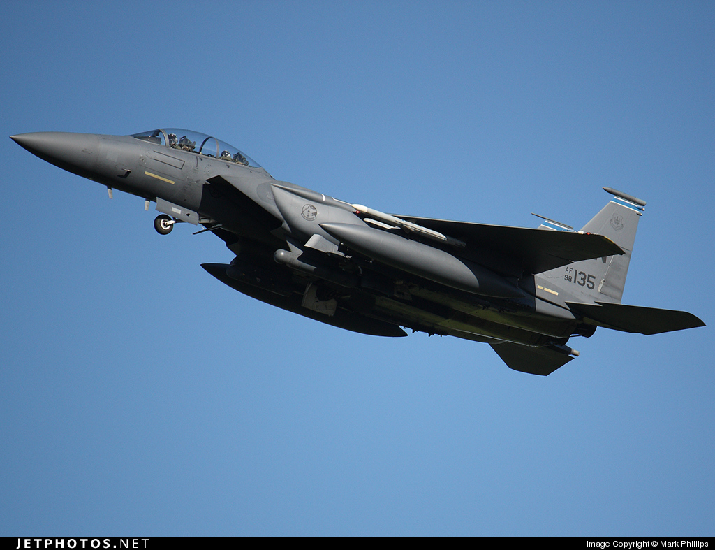 98-0135 - Boeing F-15E Strike Eagle - United States - US Air Force (USAF)