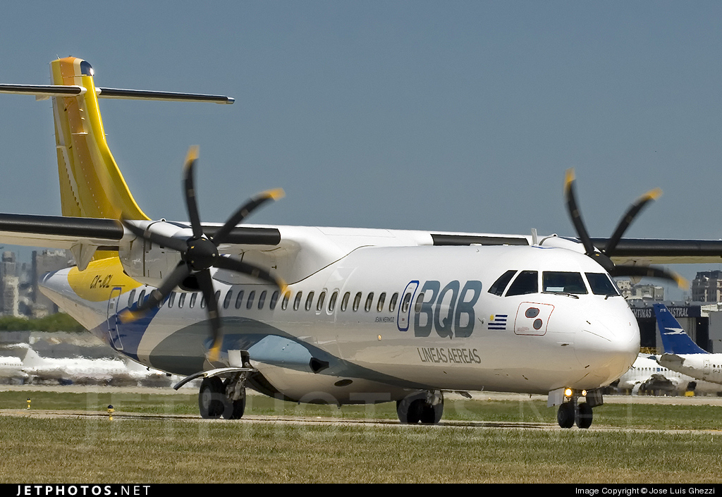 CX-JCL - ATR 72-212A(500) - BQB Líneas Aéreas
