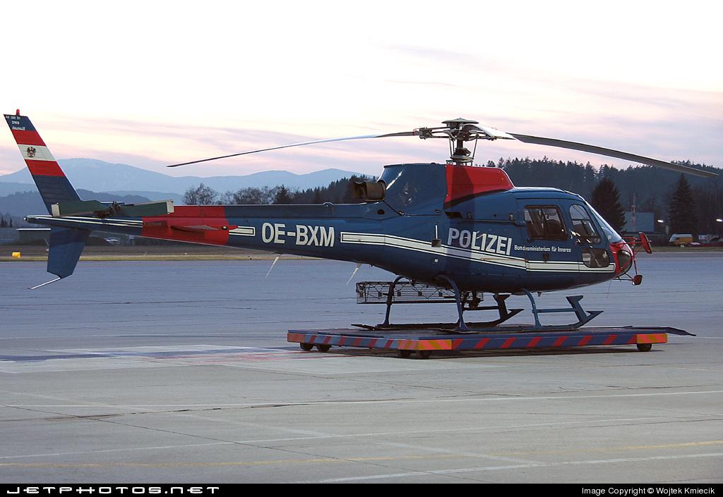 OE-BXM - Aérospatiale AS 350B1 Ecureuil - Austria - Ministry of Interior