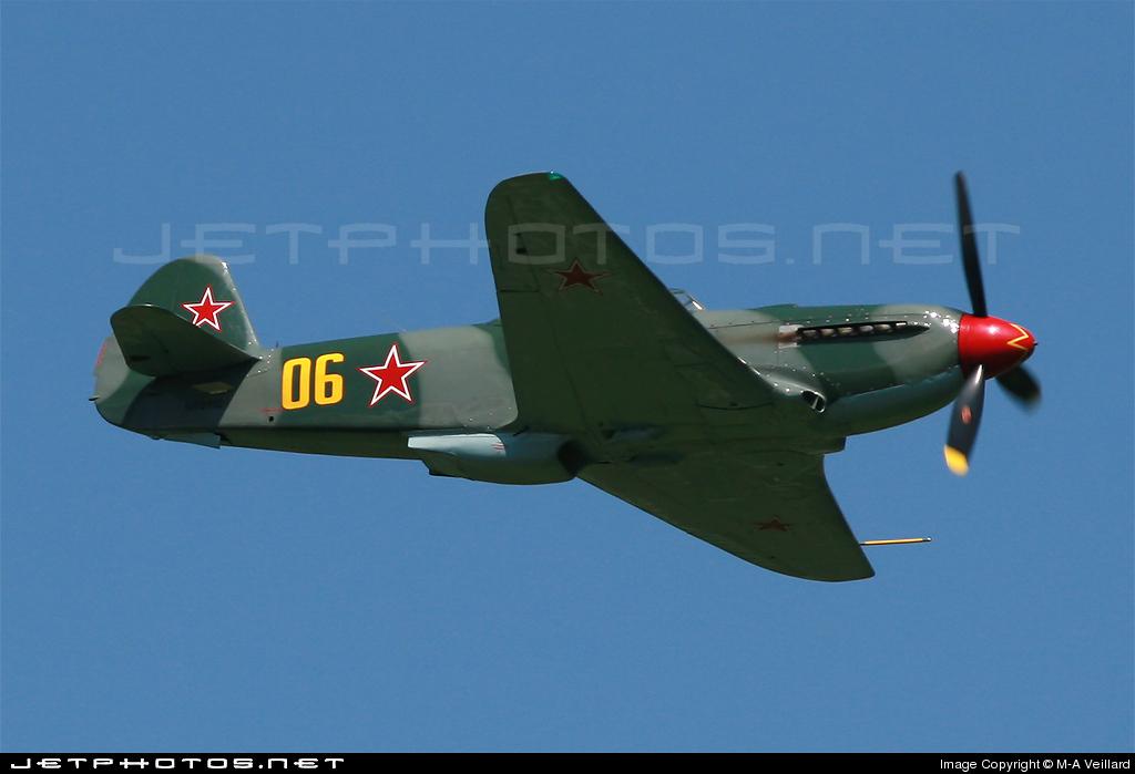 N82112 - Yakovlev Yak-9U-M - Private