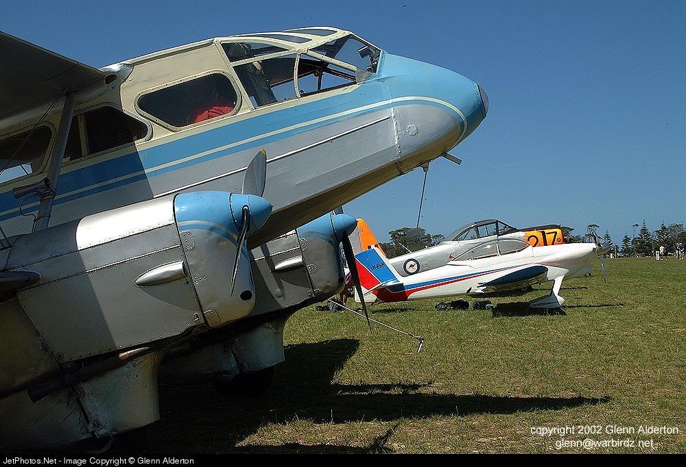 VH-UTV - De Havilland DH-89A Dragon Rapide - Private