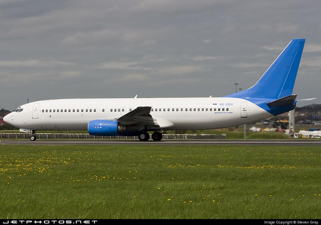 5B-DBH - Boeing 737-86N - Helios Airways