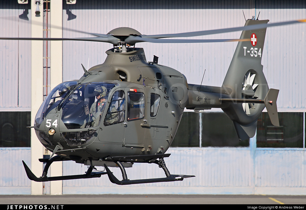 T-354 - Eurocopter EC 635P2+ - Switzerland - Air Force