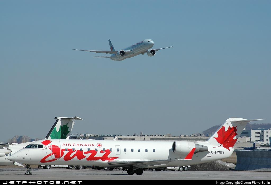 C-FWRS - Bombardier CRJ-100ER - Air Canada Jazz