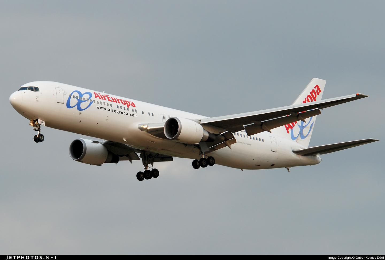 EC-HPU - Boeing 767-3Q8(ER) - Air Europa