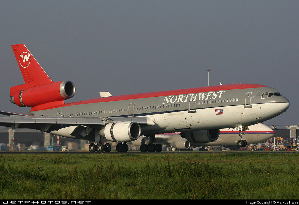 N237NW - McDonnell Douglas DC-10-30 - Northwest Airlines