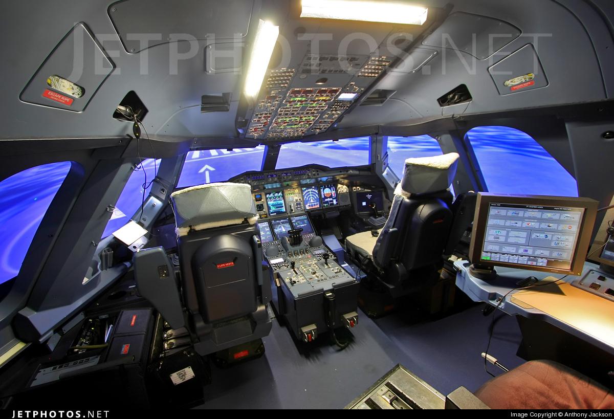Simulator - Airbus A380-842 - Qantas