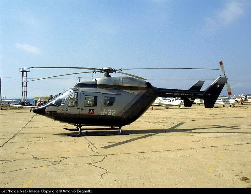 H-32 - MBB BK117 - Chile - Air Force