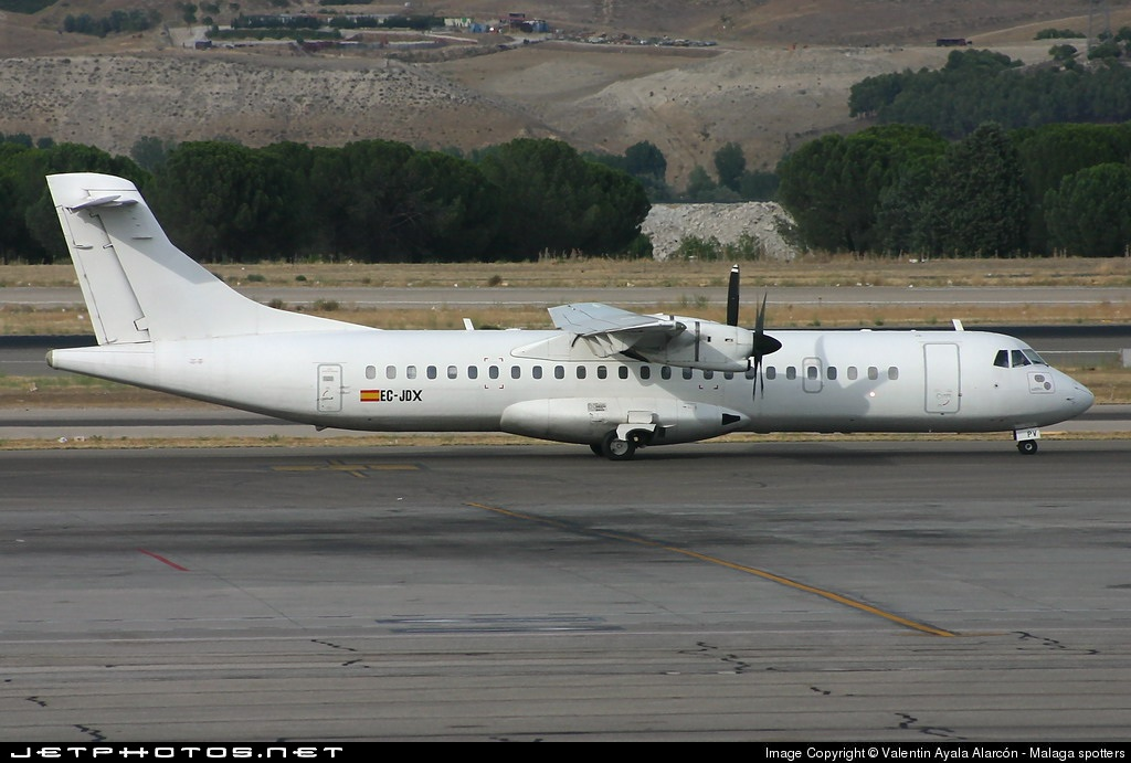 EC-JDX - ATR 72-201 - Swiftair
