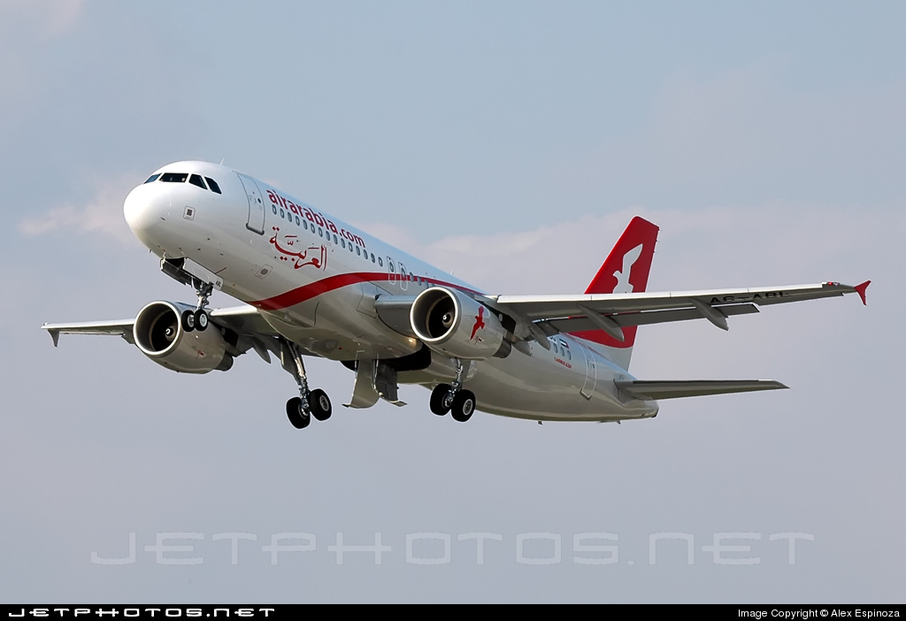 F-WWDG - Airbus A320-214 - Air Arabia