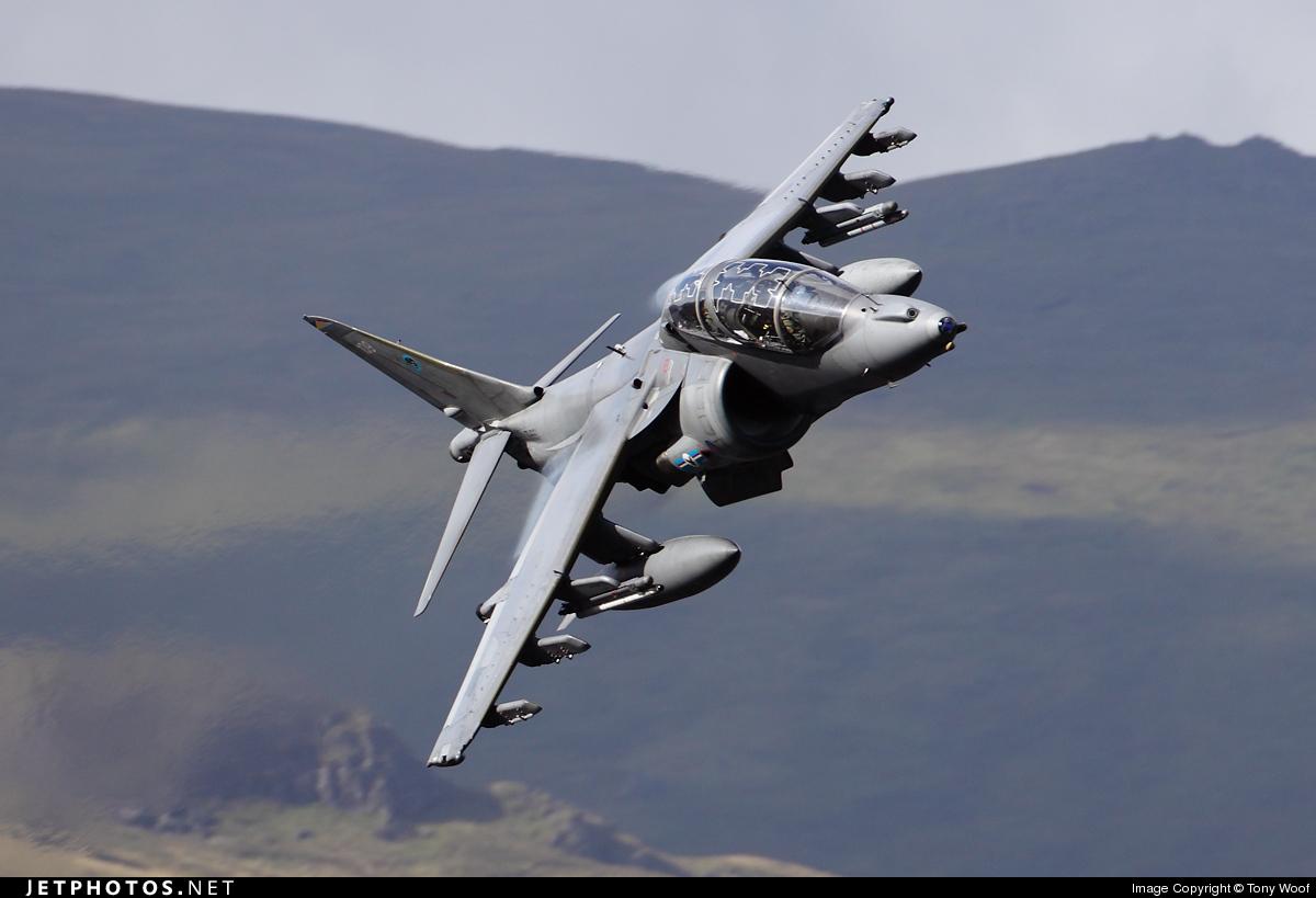 ZH661 - British Aerospace Harrier T.12 - United Kingdom - Royal Air Force (RAF)