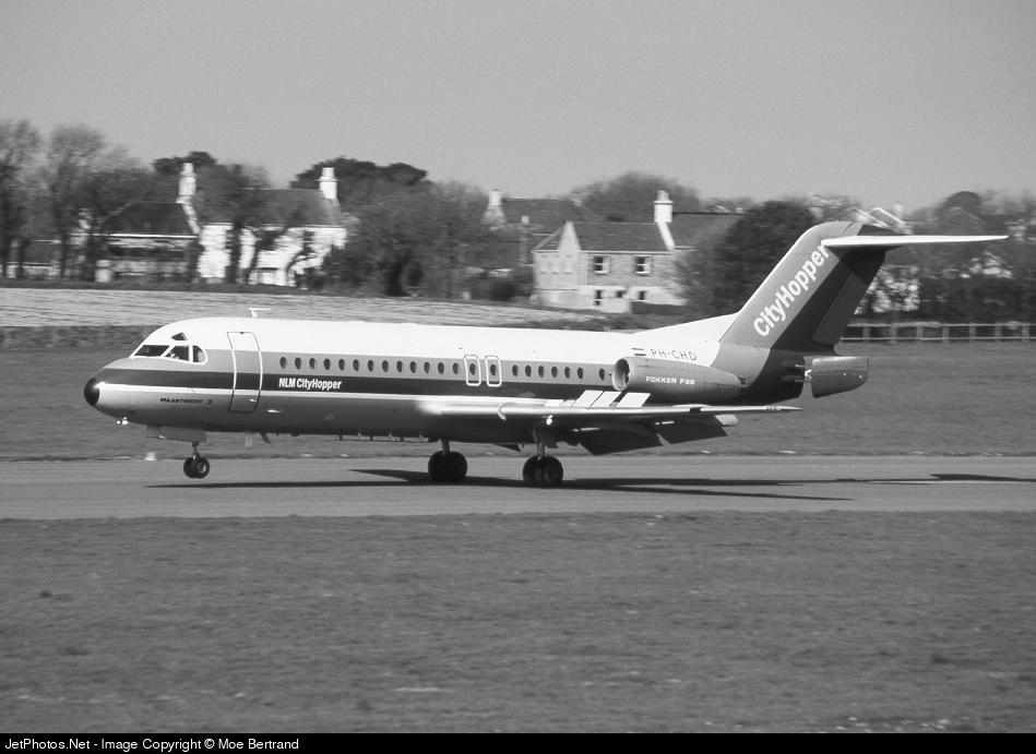 PH-CHD - Fokker F28-4000 Fellowship - NLM Cityhopper