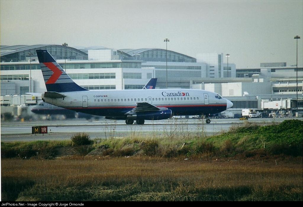 C-GBPW - Boeing 737-275(Adv) - Canadian Airlines International