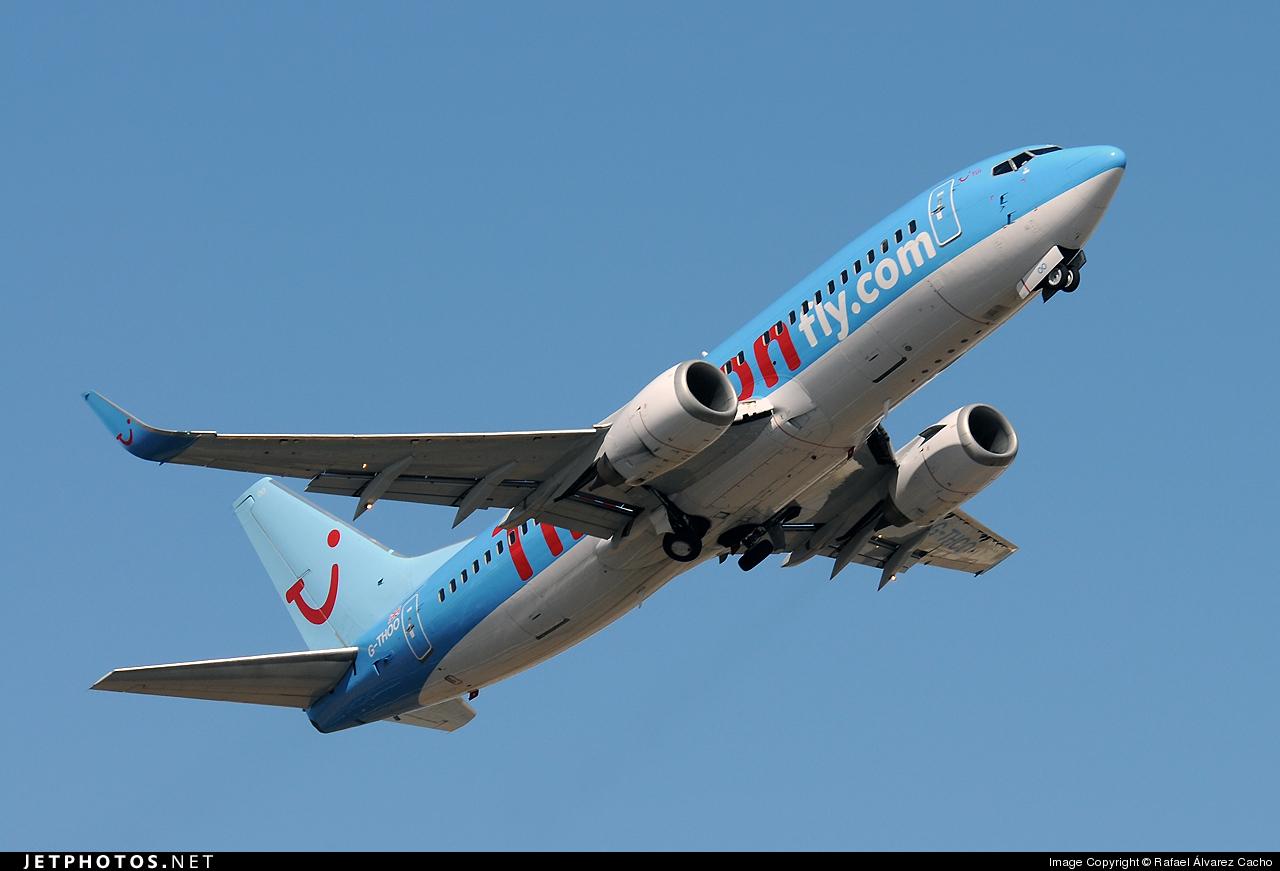 G-THOO - Boeing 737-33V - Thomson Airways