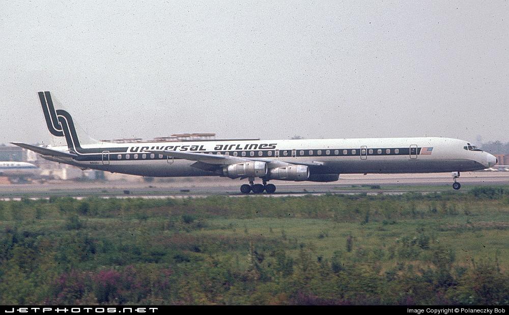 N801U - Douglas DC-8-61(CF) - Universal Airlines