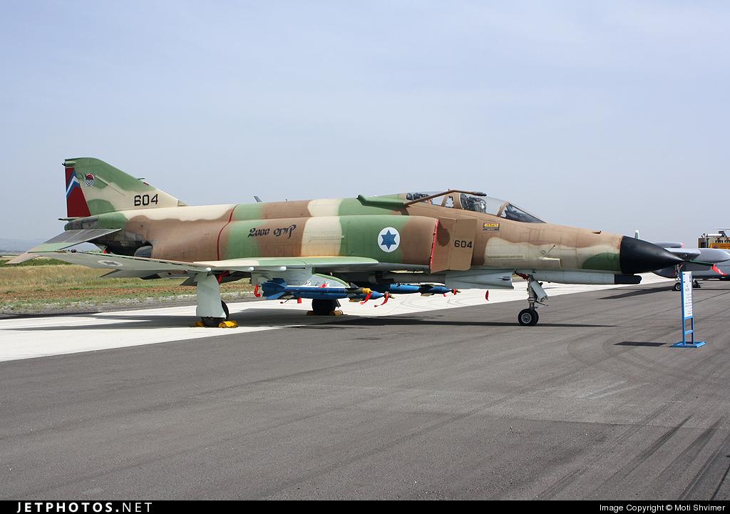604 - McDonnell Douglas F-4E Kurnass - Israel - Air Force