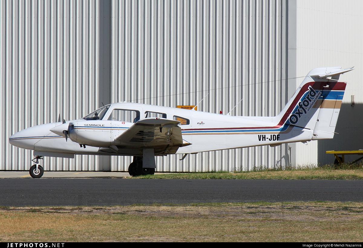 VH-JDF - Piper PA-44-180 Seminole - Learn To Fly Australia