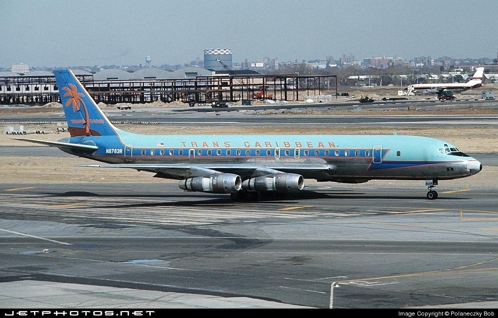 N8783R - Douglas DC-8-54(F) - Trans Caribbean Airways