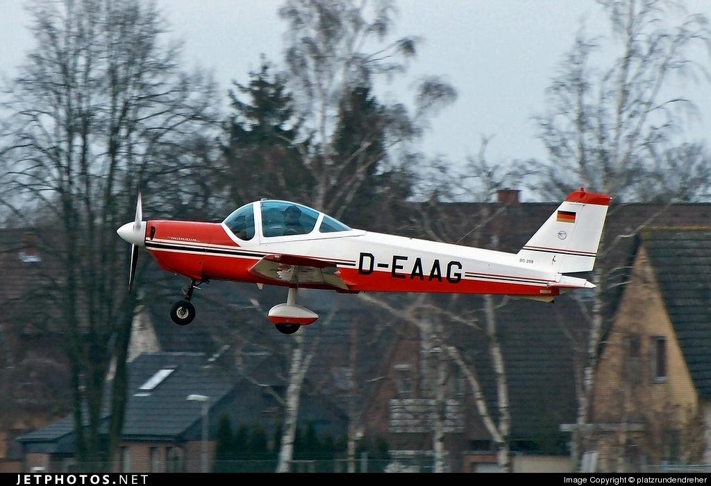 D-EAAG - Bolkow Bo.209 Monsun 150RV - Private