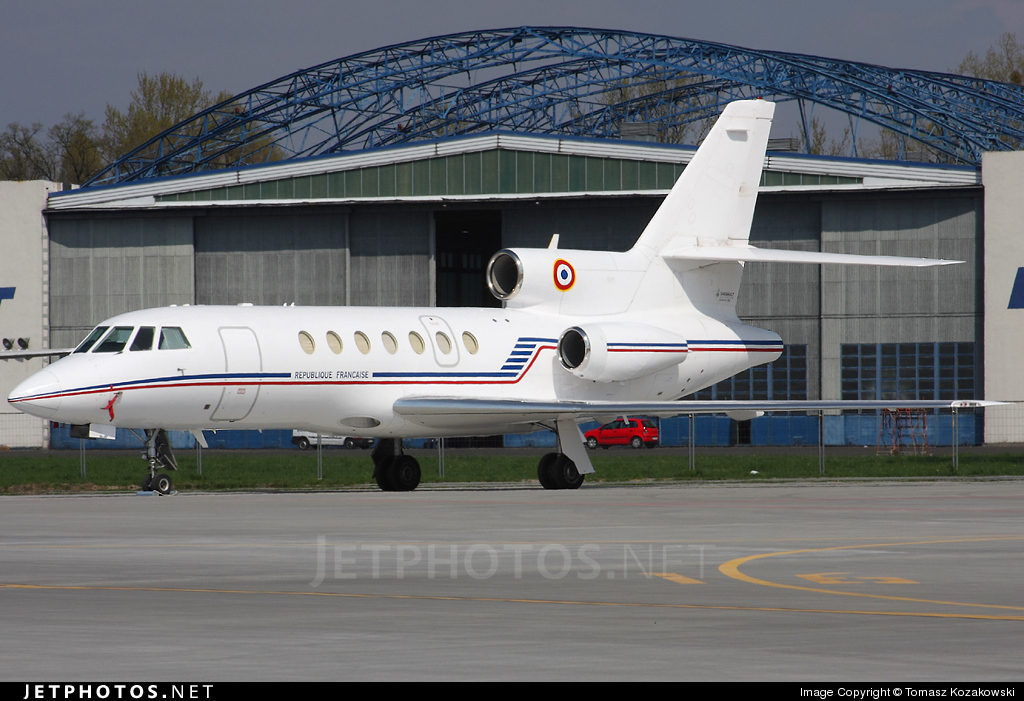 27 - Dassault Falcon 50 - France - Air Force