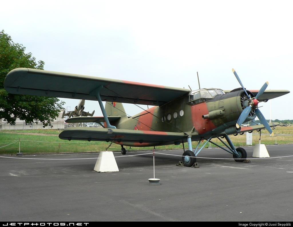 822 - Antonov An-2 - German Democratic Republic - Air Force