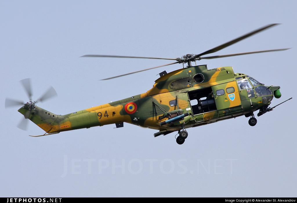 94 - IAR-330L Puma SOCAT - Romania - Air Force