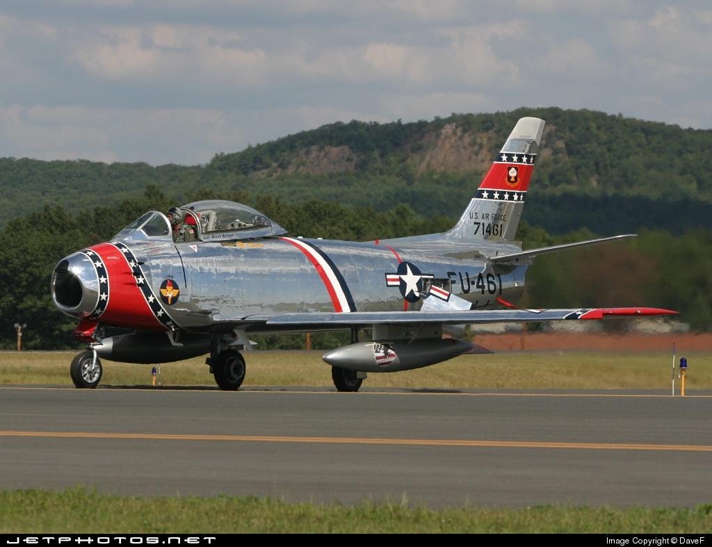 N186FS - Canadair CL-13B-6 Sabre - Private