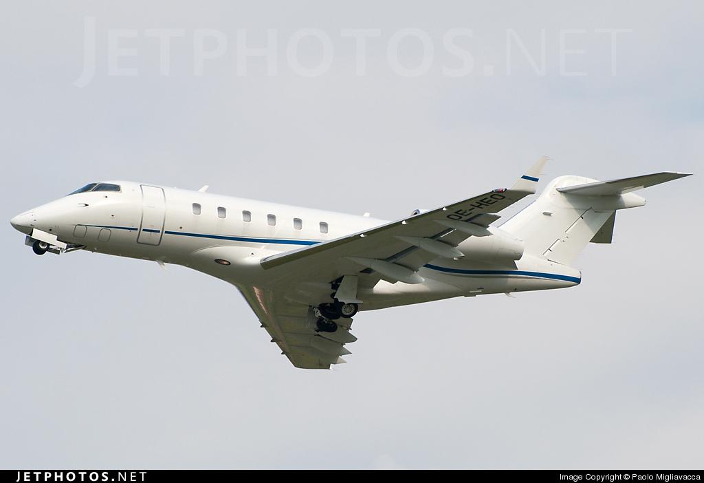 OE-HEO - Bombardier BD-100-1A10 Challenger 300 - JetAlliance