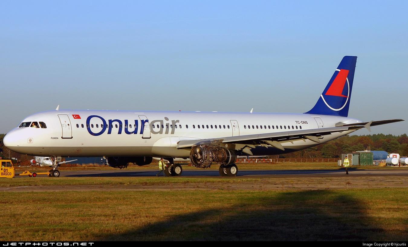 TC-ONS - Airbus A321-131 - Onur Air
