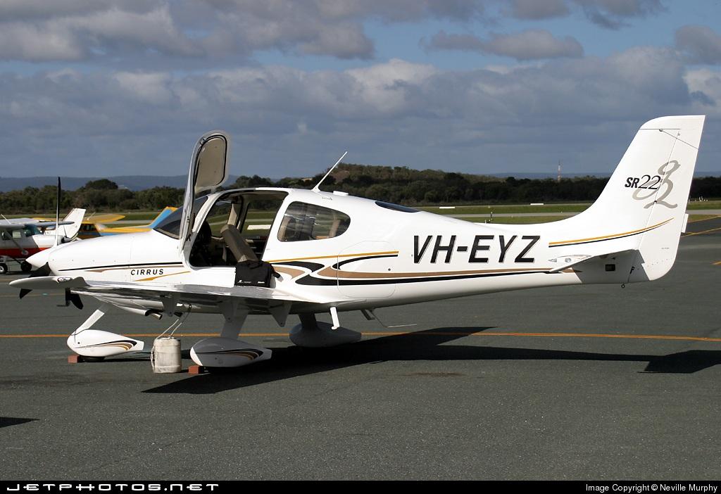 VH-EYZ - Cirrus SR22-G2 - Private