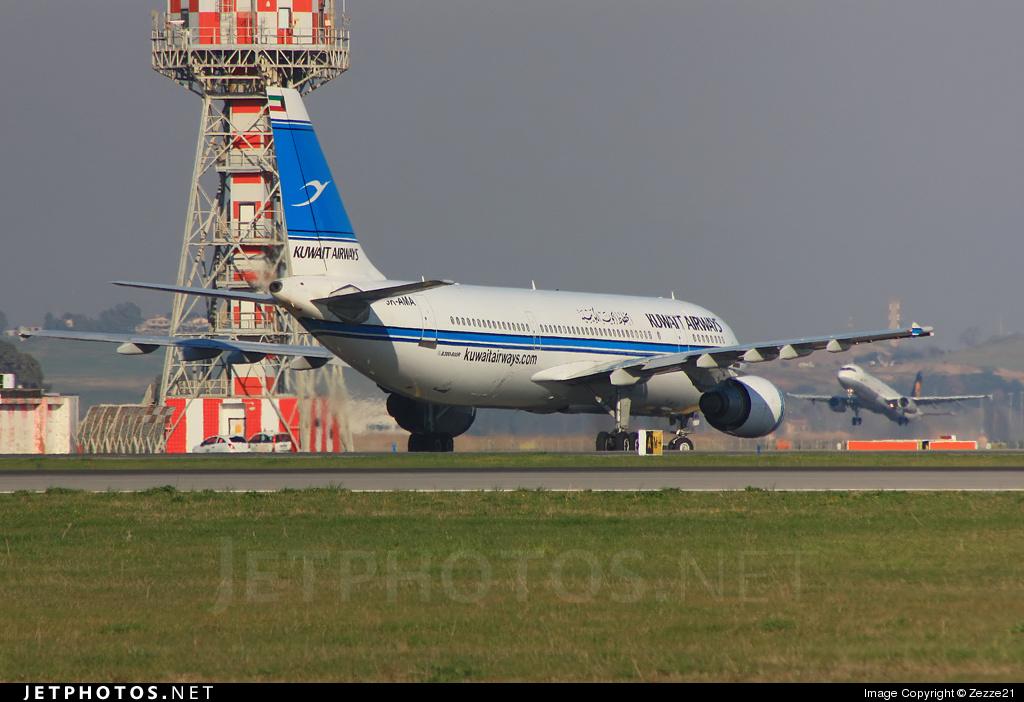 9K-AMA - Airbus A300B4-605R - Kuwait Airways
