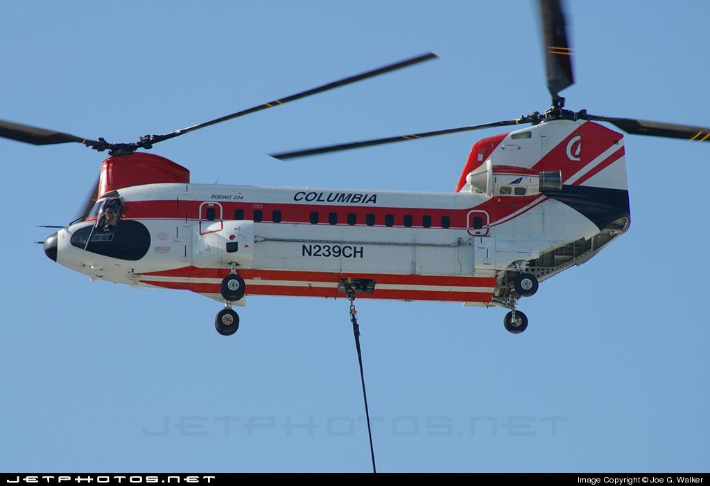 N239CH - Boeing Vertol 234 - Columbia Helicopters