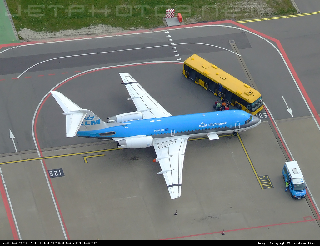 PH-KZR - Fokker 70 - KLM Cityhopper