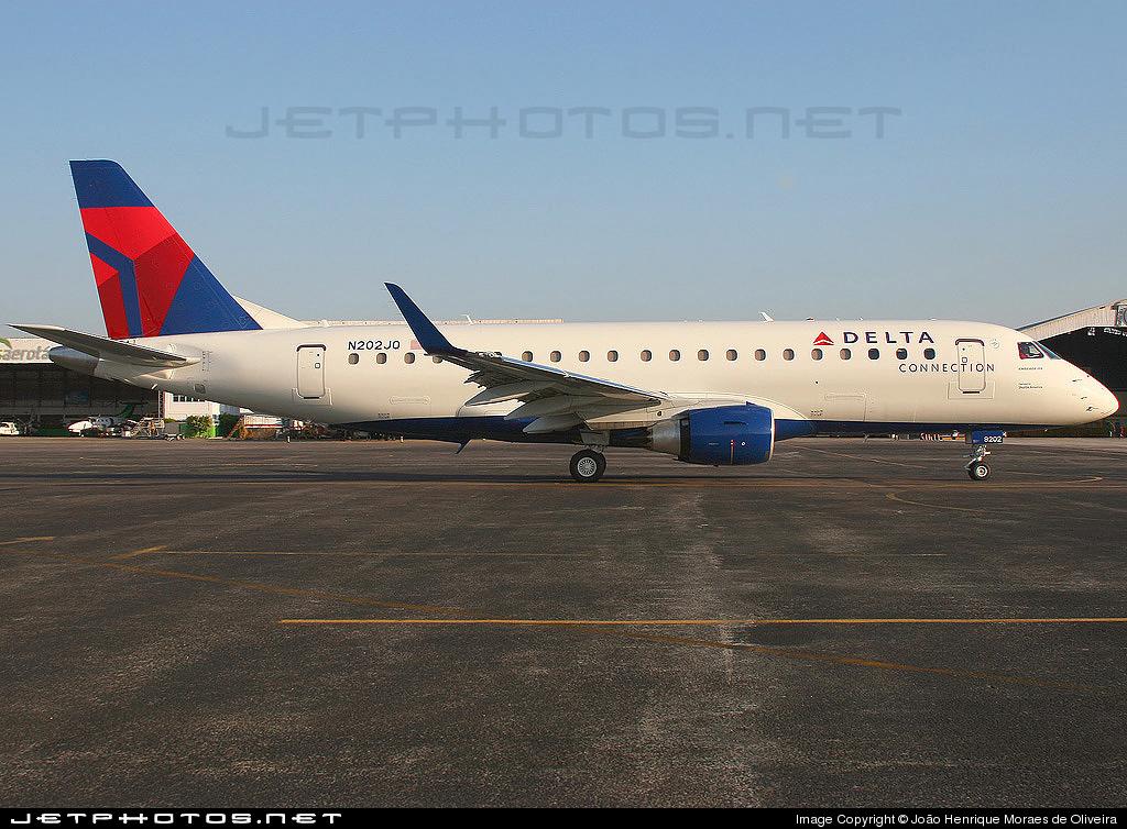 N202JQ - Embraer 170-200LR - Delta Connection (Shuttle America)