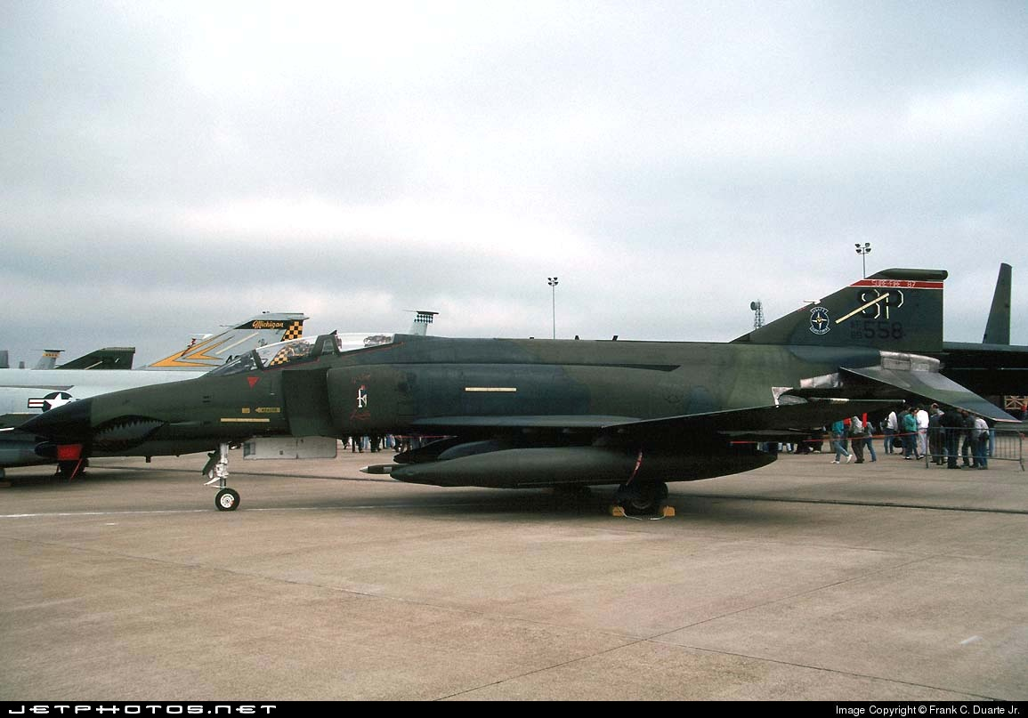 69-0558 - McDonnell Douglas F-4G Phantom II - United States - US Air Force (USAF)