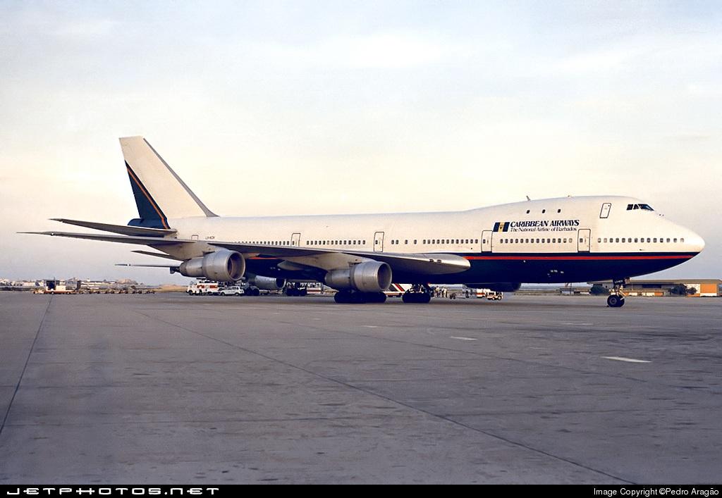 LX-KCV - Boeing 747-123 - Caribbean Airways