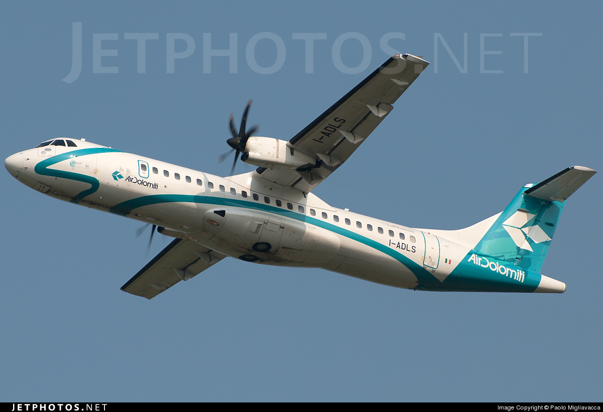 I-ADLS - ATR 72-212A(500) - Air Dolomiti