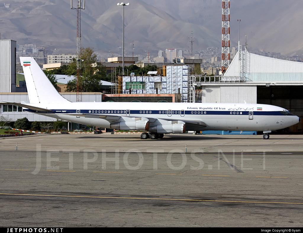 1001 - Boeing 707-386C - Iran - Government