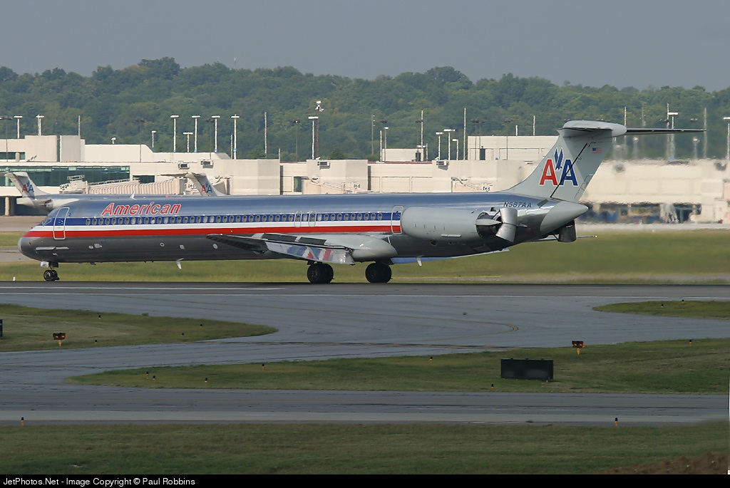 N587AA - McDonnell Douglas MD-82 - American Airlines