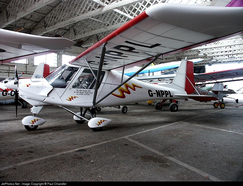 G-NPPL - Ikarus C-42 - Private