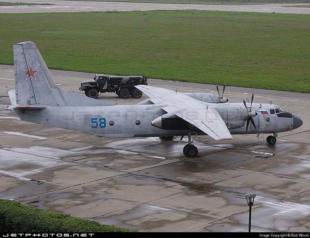58 - Antonov An-26 - Russia - Air Force