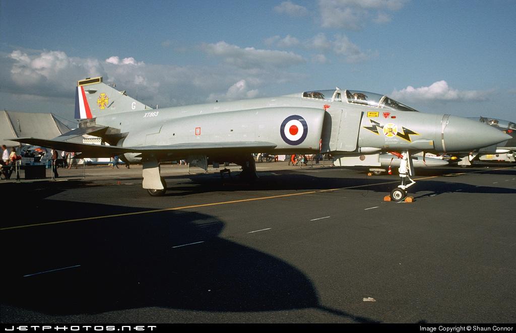 XT863 - McDonnell Douglas F-4 Phantom II - United Kingdom - Royal Air Force (RAF)