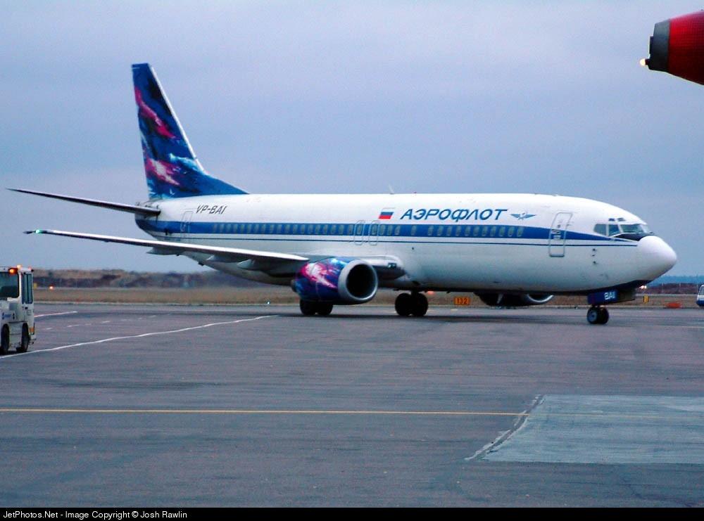VP-BAI - Boeing 737-4M0 - Aeroflot