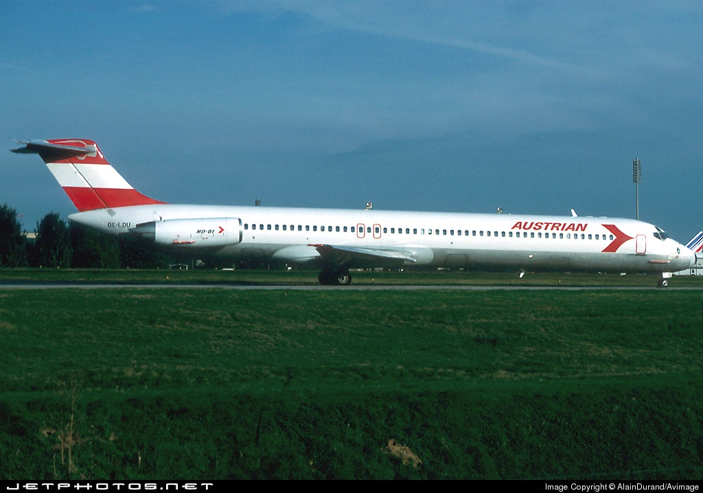 OE-LDU - McDonnell Douglas MD-81 - Austrian Airlines