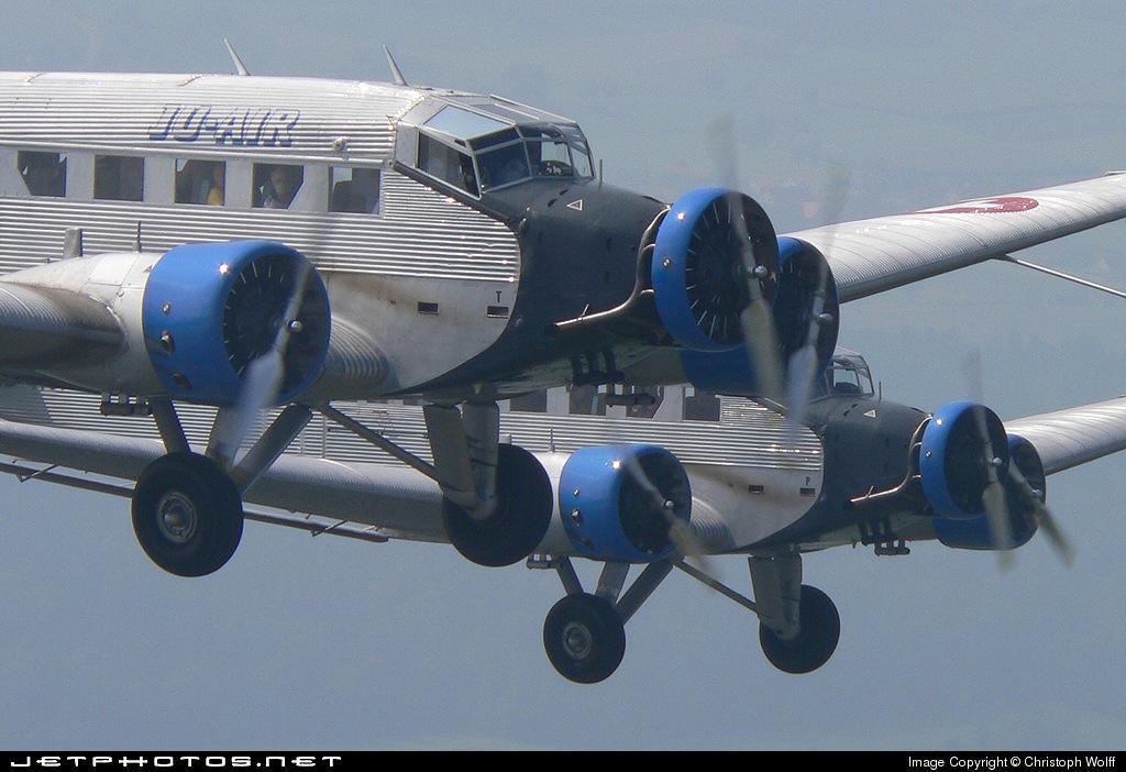 HB-HOT - Junkers Ju-52/3m - Ju-Air