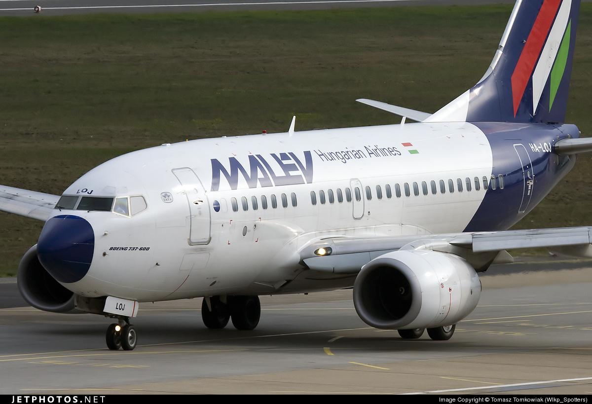 HA-LOJ - Boeing 737-6Q8 - Malév Hungarian Airlines