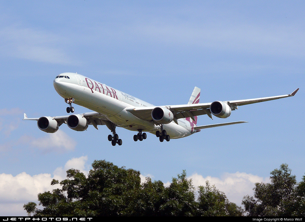 A7-AGC - Airbus A340-642X - Qatar Airways