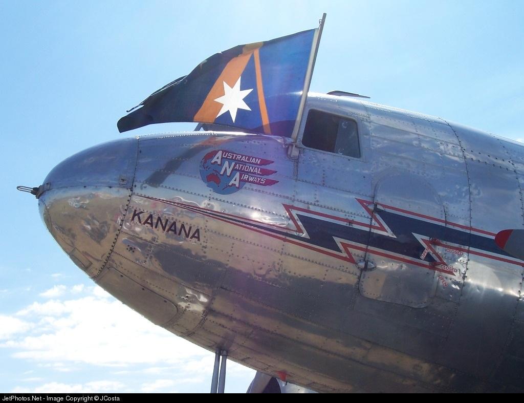 VH-ABR - Douglas DC-3 - Ansett Airways