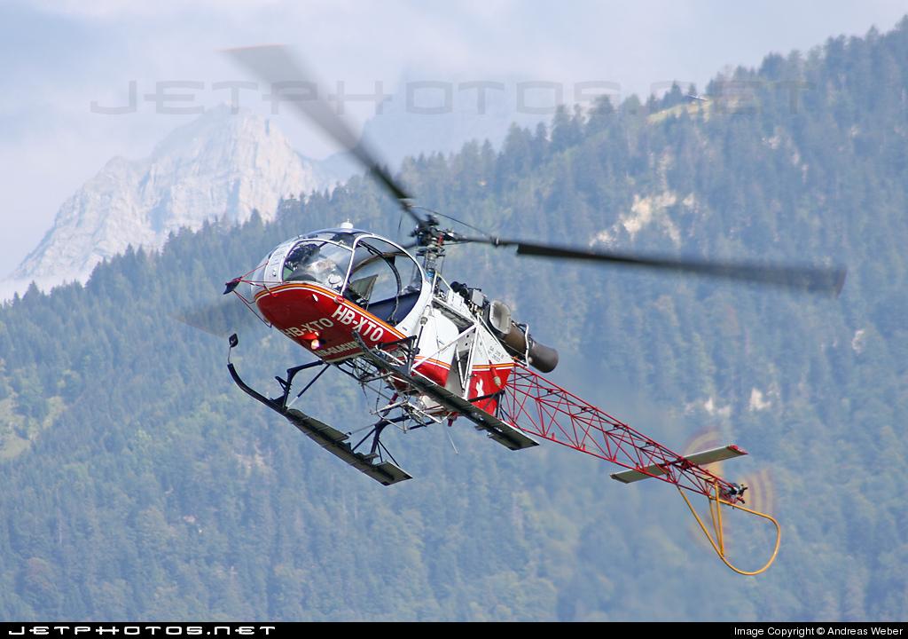 HB-XTO - Aérospatiale SA 315B Lama - Air-Glaciers